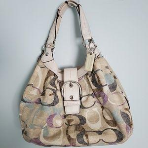 Coach Soho Signature Op Art Shoulder Bag